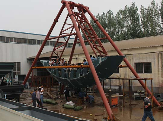 pirate ship theme park rides manufacturer in China