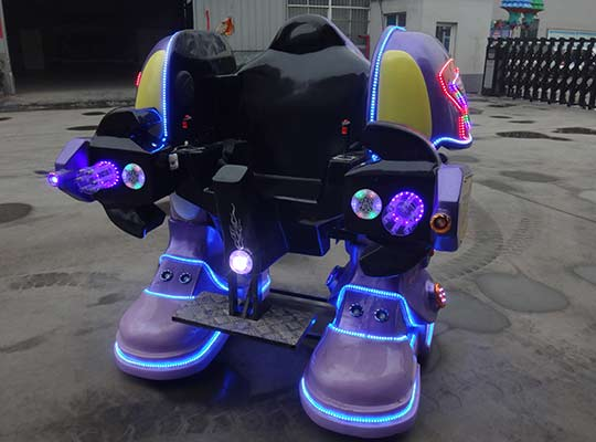 robot fairground mobile rides in BESTON