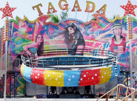 space disco TAGADA rides for sale