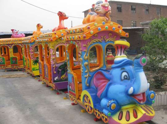 amusement park train rides for sale