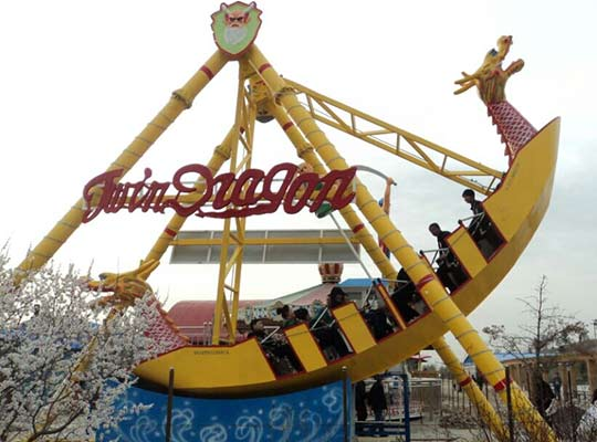 small pirate ship ride for sale