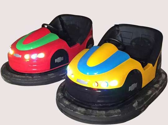 how bumper cars work