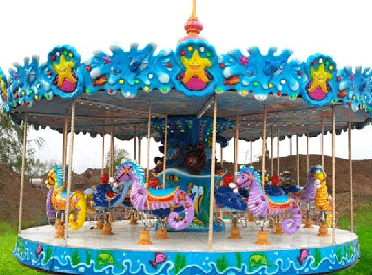 small carousel horse for sale to Pakistan in Beston