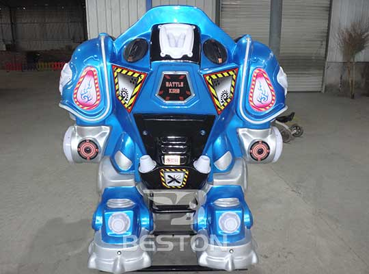 kids robot amusement park rides in professional supplier