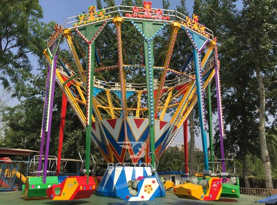 new spinning and swing rides for sale