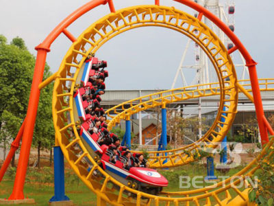 Three Loops Roller Coaster for sale in Paksitan