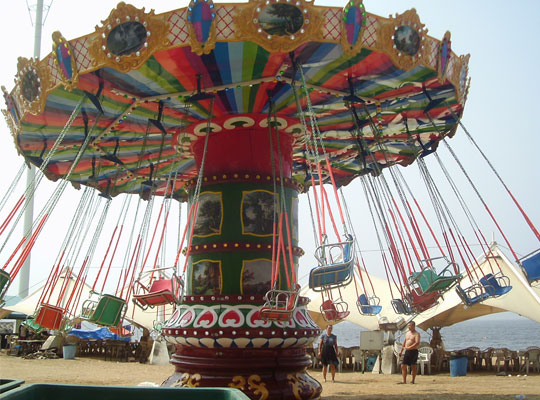 wave swinger carnival ride prices