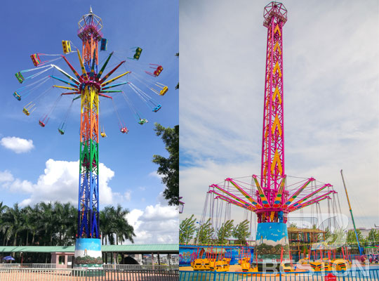theme park thrill rides manufacturer