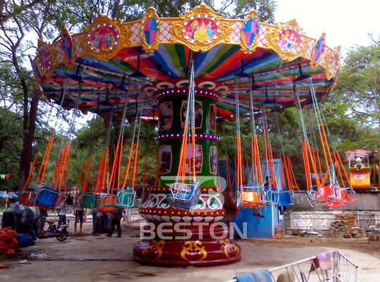 flying chair amusement park Rides in Pakistan