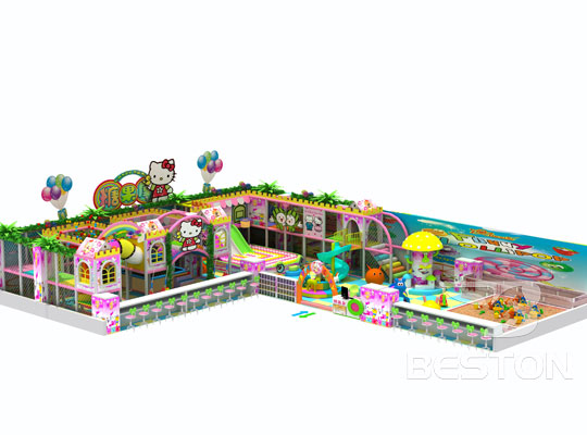 Kiddie Candy Themed Indoor Playground Equipment